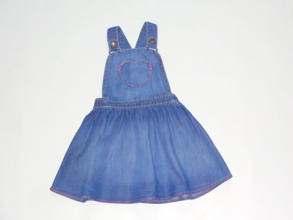 6b3d6cda NEXT * sukieneczka jeansowa r.2-3 lata