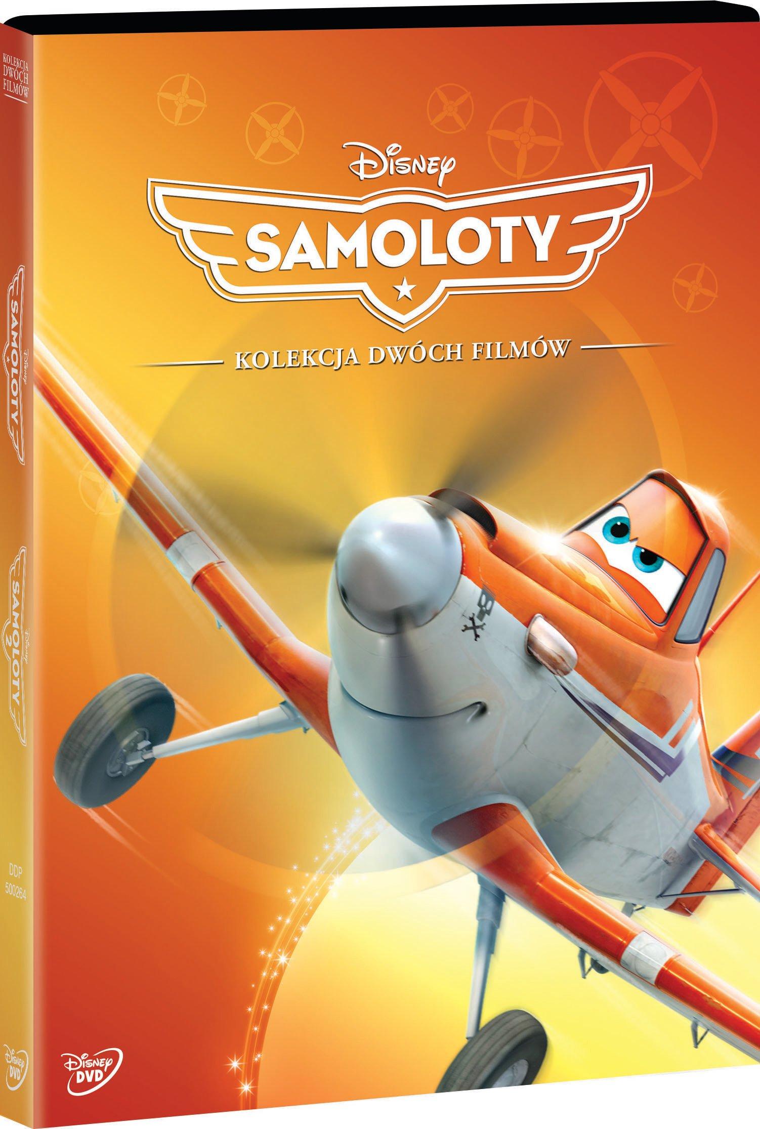 Samoloty pakiet 2 filmów DVD