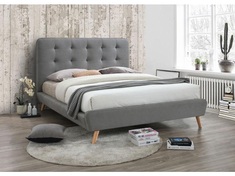 Podwójne łóżko Tapicerowane Tiffany 160 Tanie 7321459792