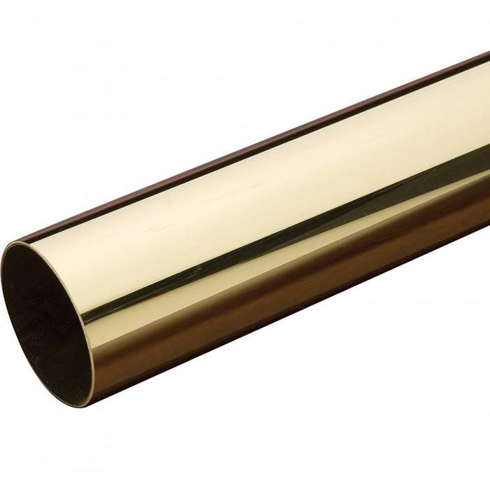 Rura, rurka mosiężna fi 8mm x 1mm - 100cm