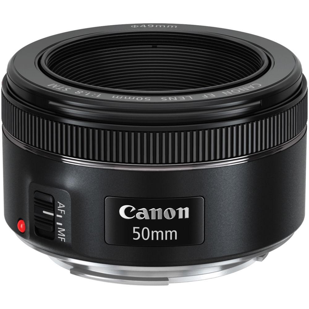@Obiektyw Canon EF 50mm f/1.8 STM  GW, OSŁONA, UV