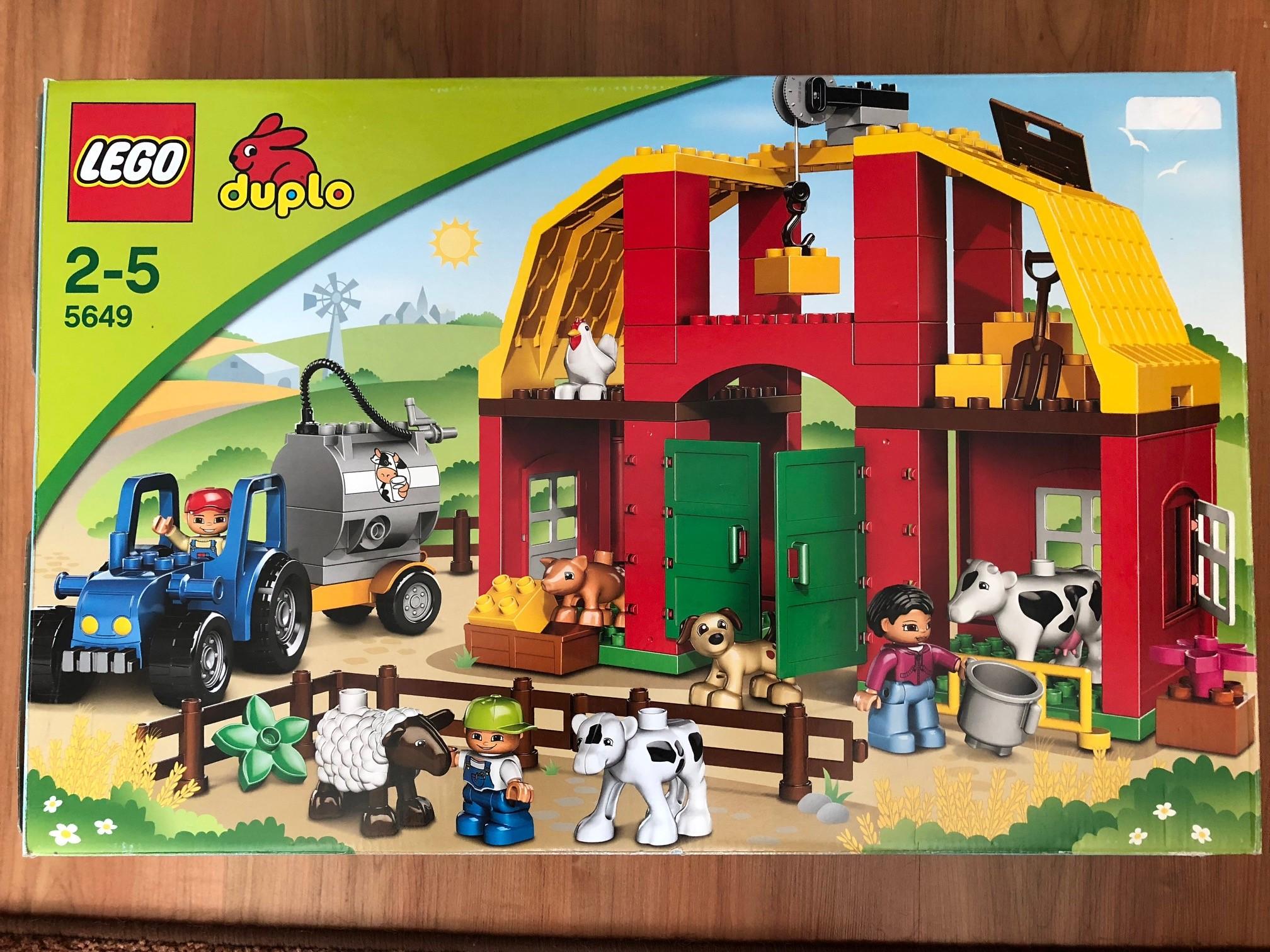 Klocki Lego Duplo 5649 Duża Farma 7346861377 Oficjalne Archiwum