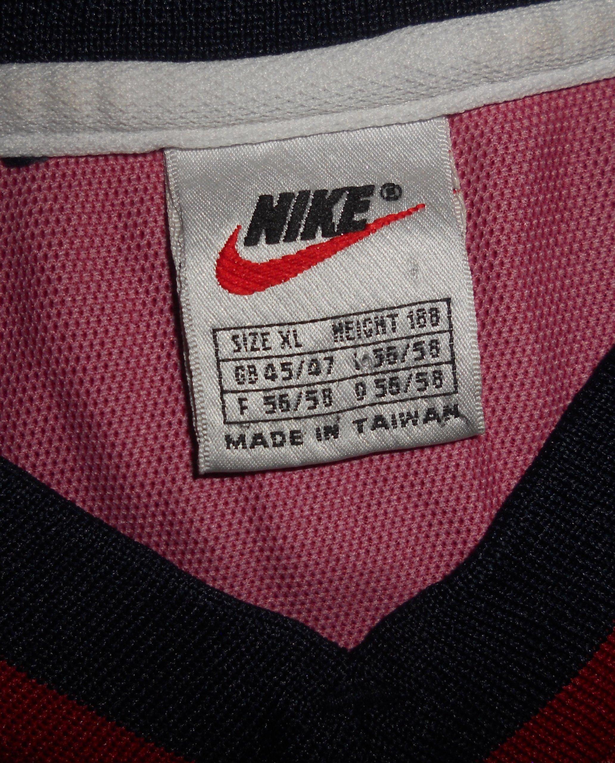 b18f1abc0 FC Barcelona Nike Home Shirt 1998 99 Unikat XL - 7464604155 - oficjalne  archiwum allegro