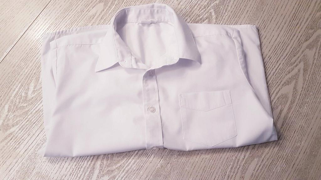 Biała galowa elegancka koszula dla dziewczynki SMYK Cool club 146 rozpoczęcie roku szkolnego