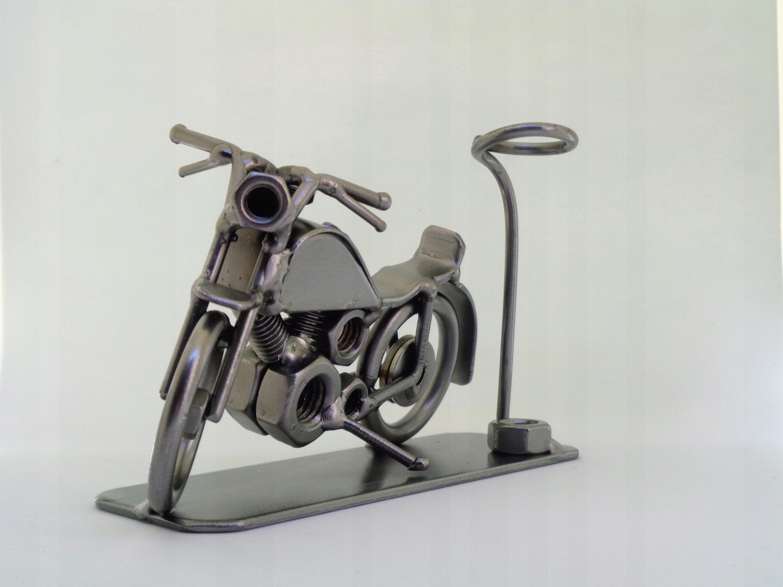 Metalowy Motor Na Długopis Prezent Garaż Motocykl 7465917461