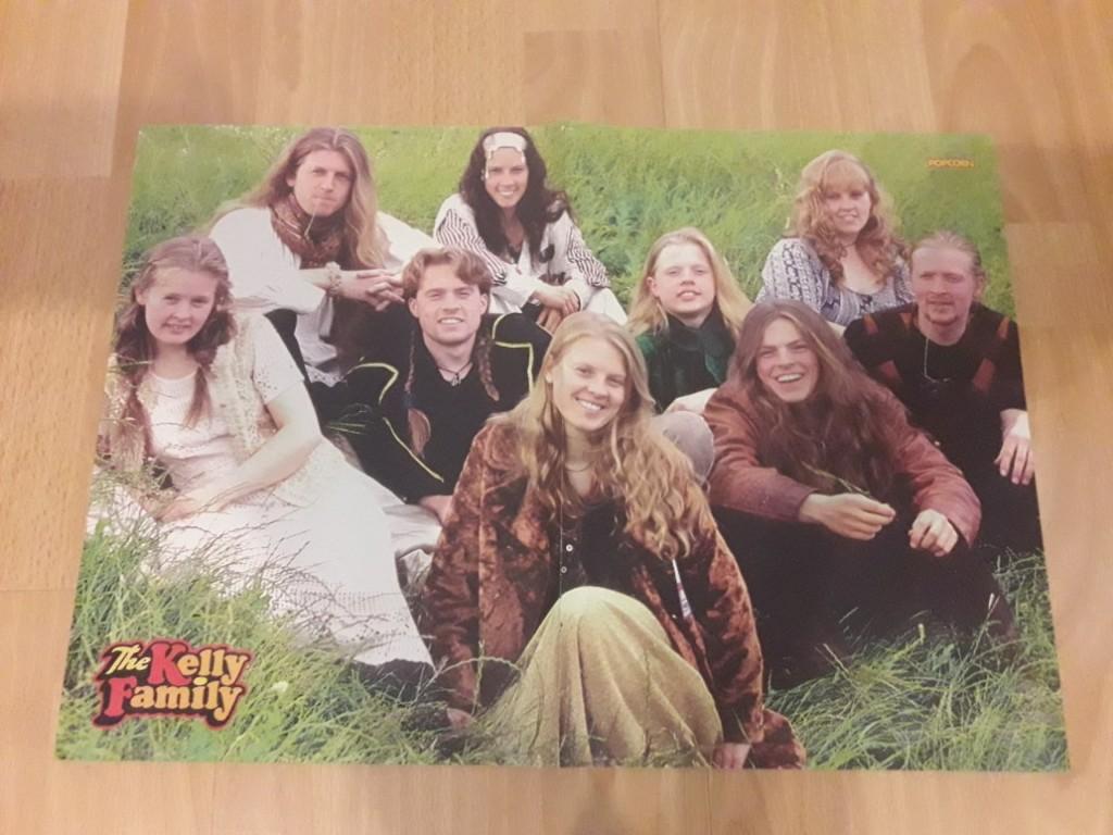 The Kelly Family Oryg Plakaty Z Lat 90 54szt