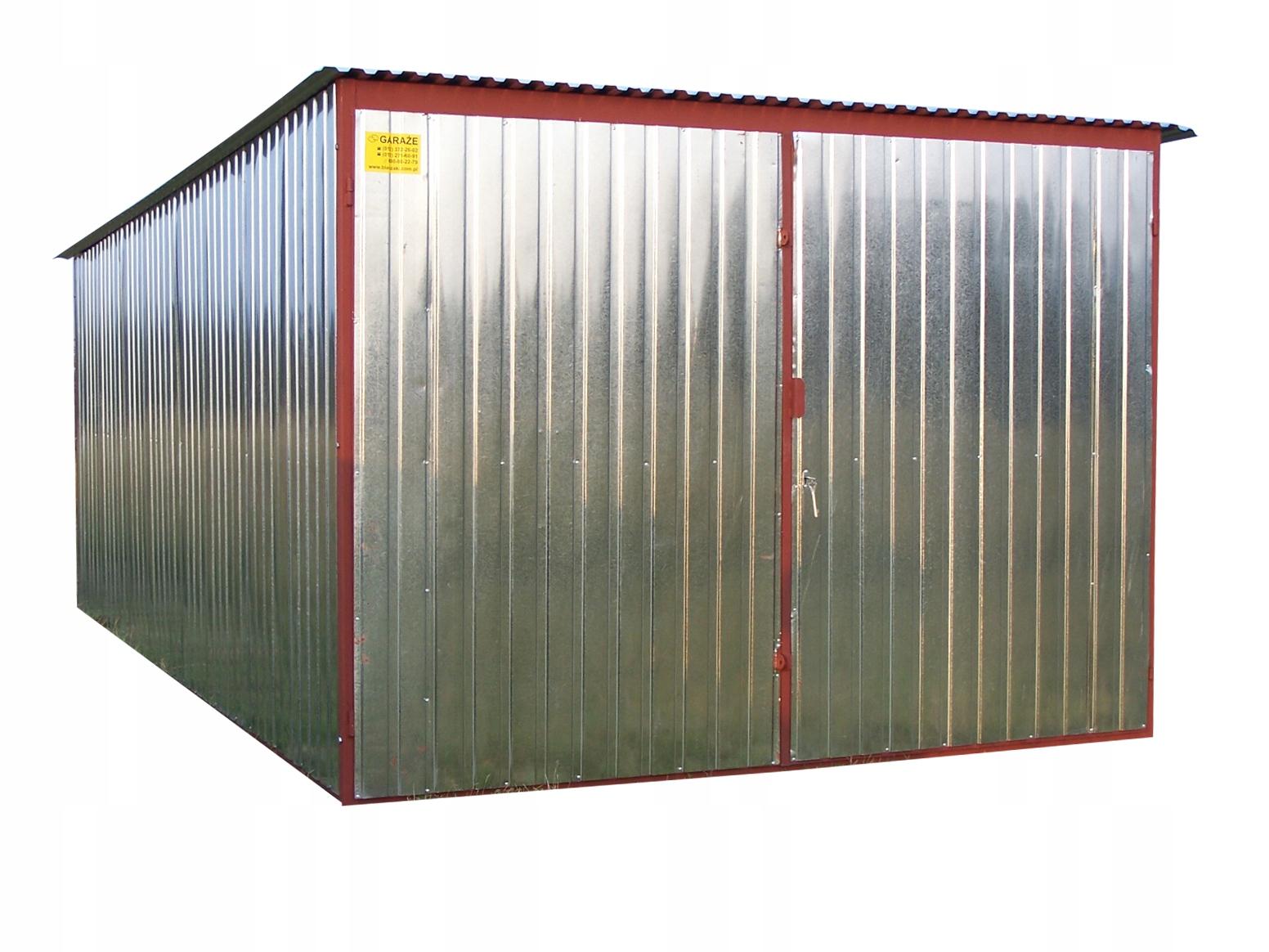 Garaż Blaszany Garaze Blaszane 3x5 Piechowice 6743003298