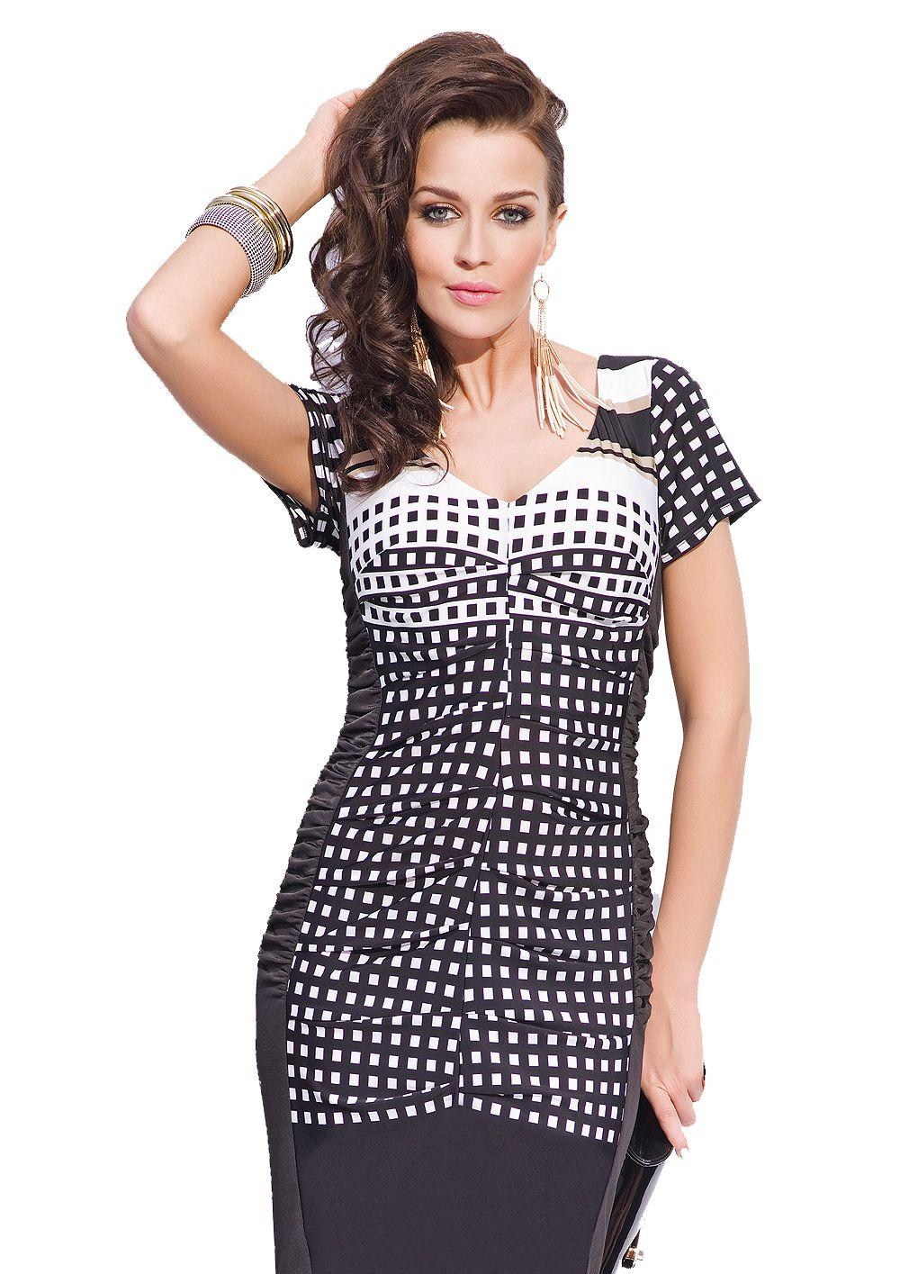 238013072f Sukienka koktajlowa r.44 SATYNA LICYTACJA !!! - 7614075239 - oficjalne  archiwum allegro