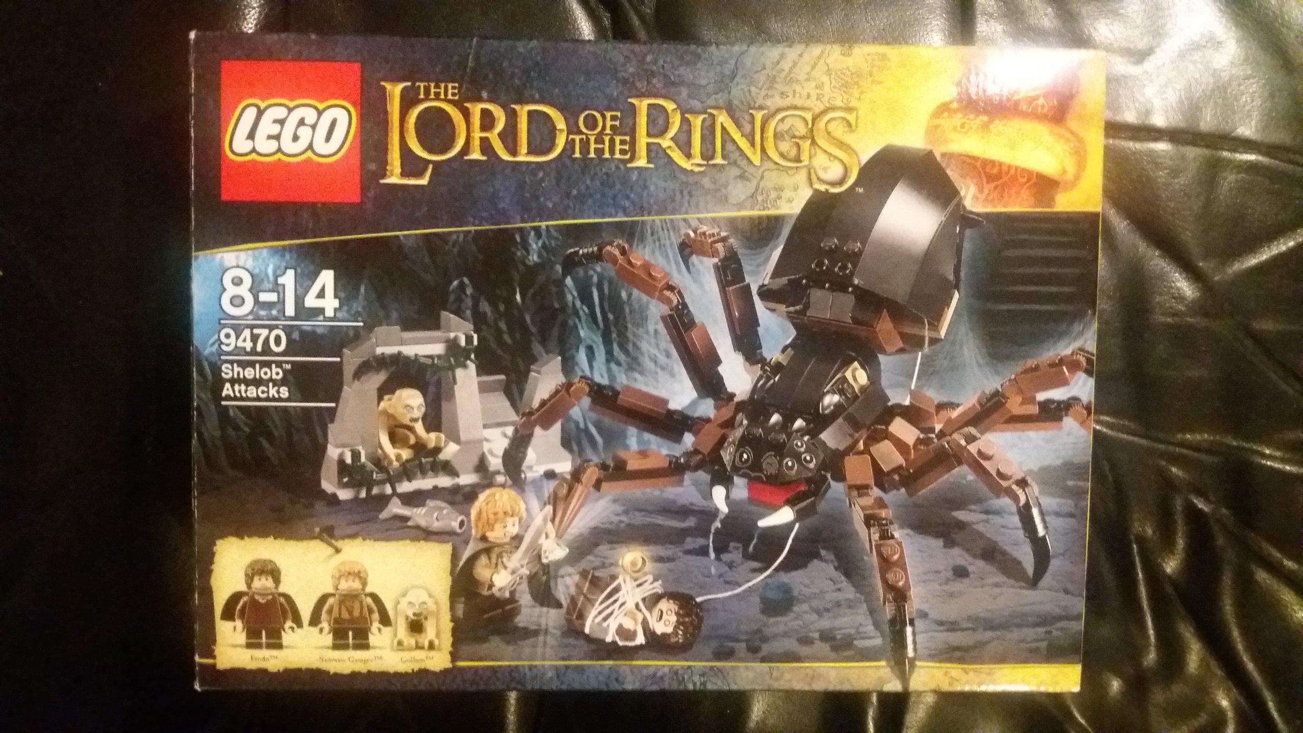 Lego Władca Pierścieni Atak Szeloby 9470 7082323778 Oficjalne