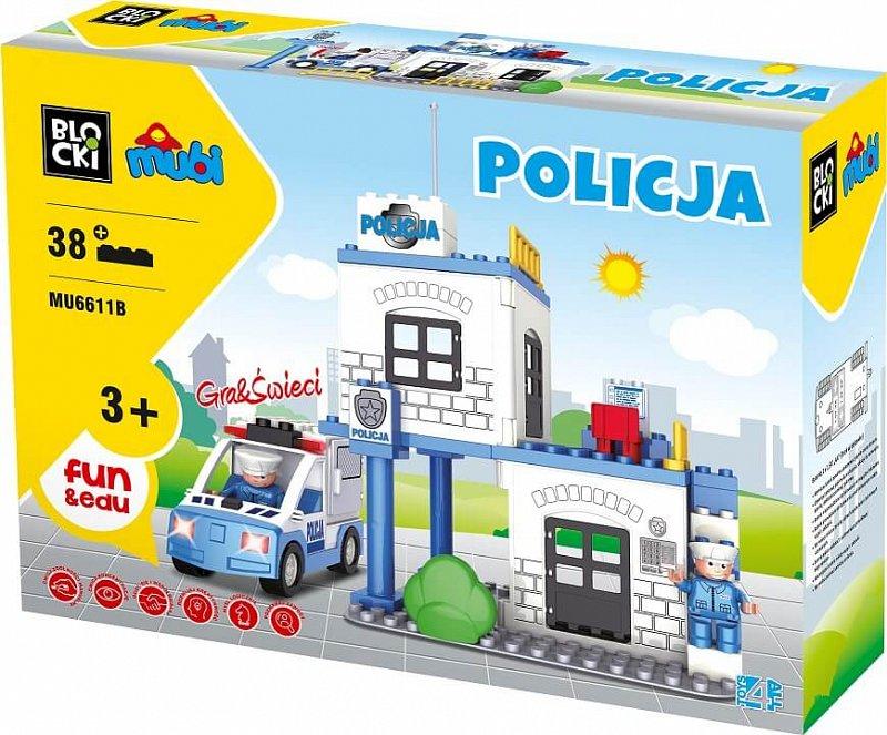 Mu6611b Klocki Mubi Policja Komisariat Remiza Gra 6741856546