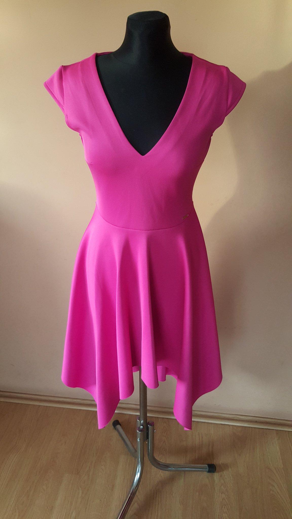 977ca8676d Sukienka Mohito malinowa różowa wesele S M 36 38 - 7289121591 ...