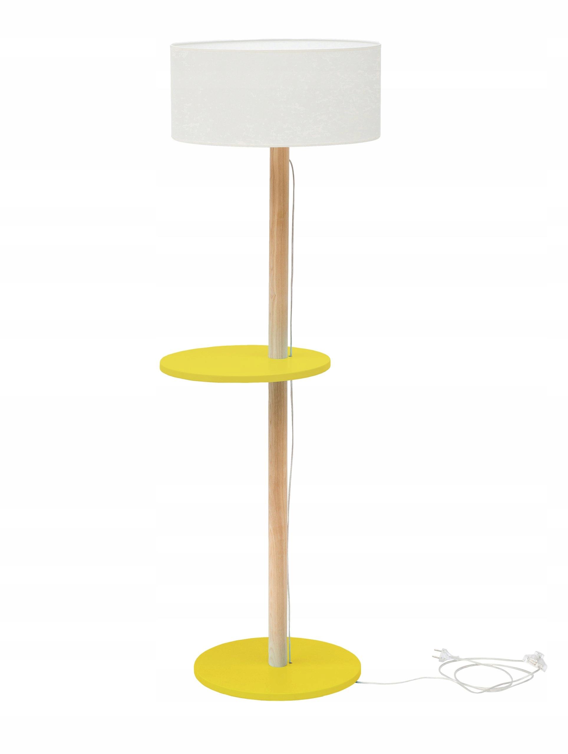 Prl Lampa Stojąca żółta Półka Podłogowa 6985748493 Oficjalne