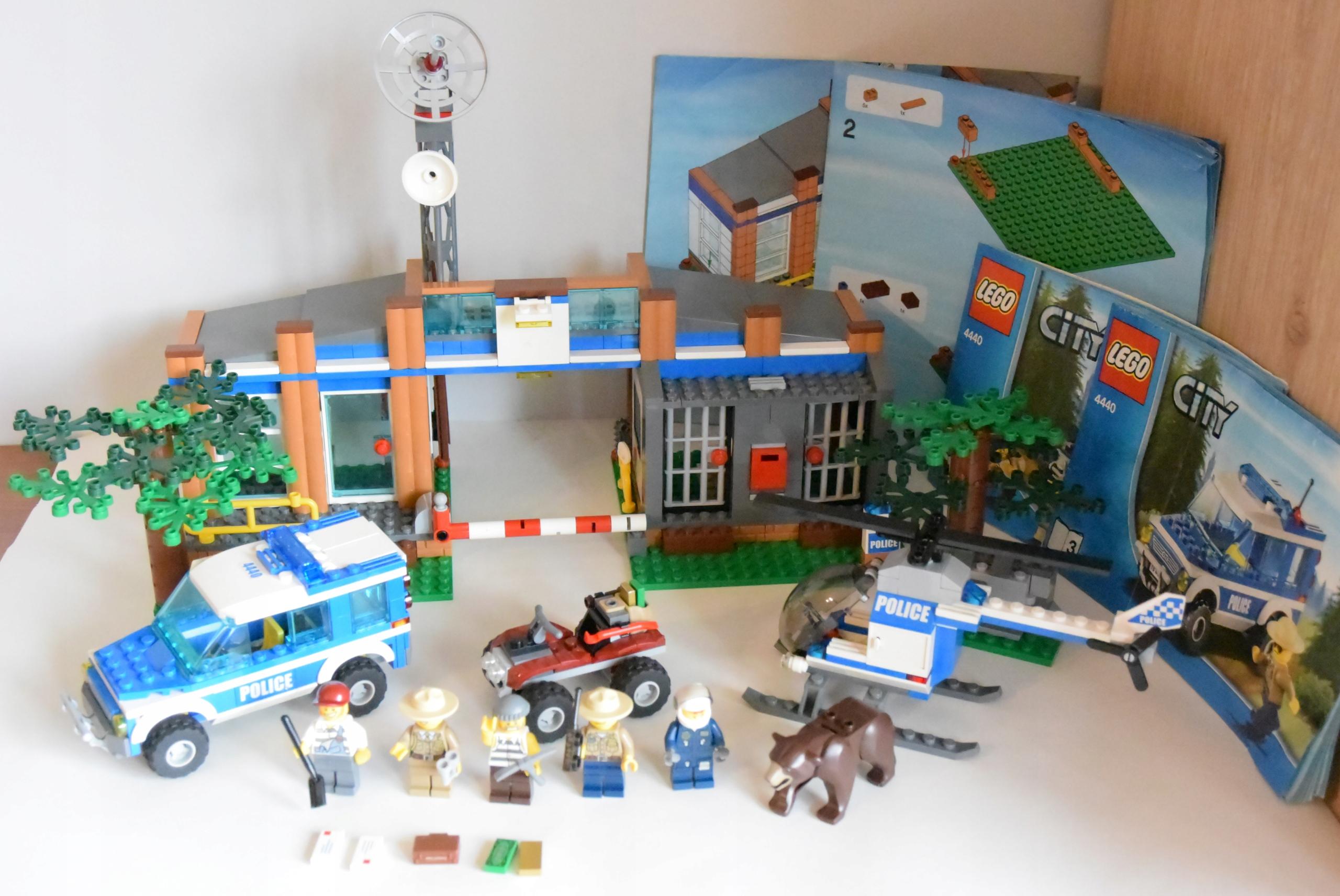 Klocki Lego City 4440 Leśny Posterunek Policji 7528452264