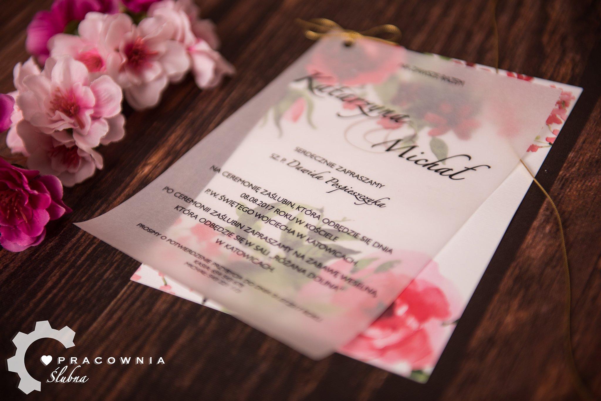 Oryginalne Zaproszenia ślubne Boho Rustykalne Hit 7029176218