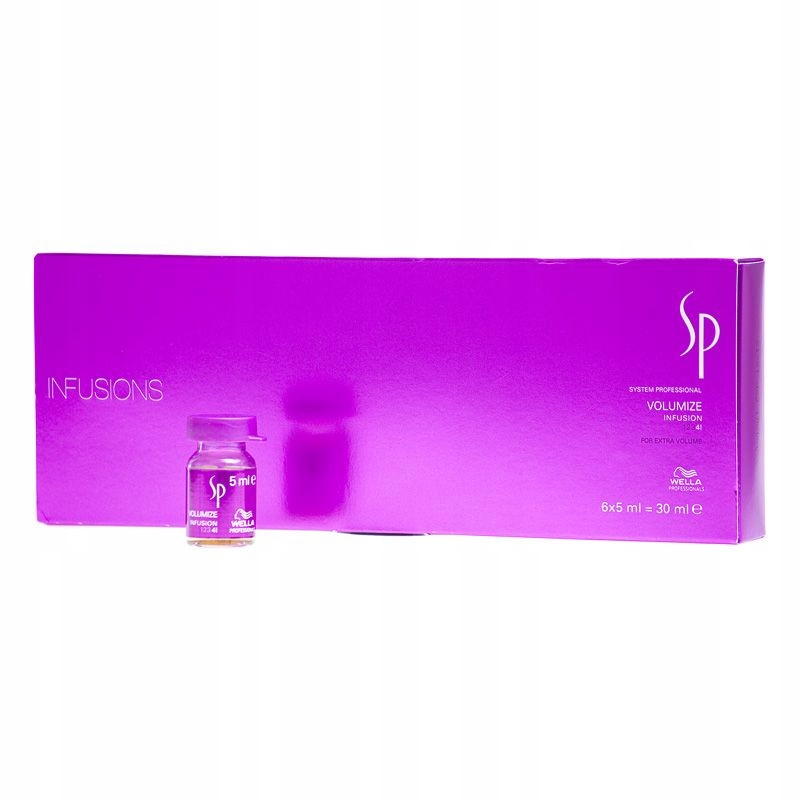 Wella SP Volumize Ampułki 6 x 5 ml Objętość