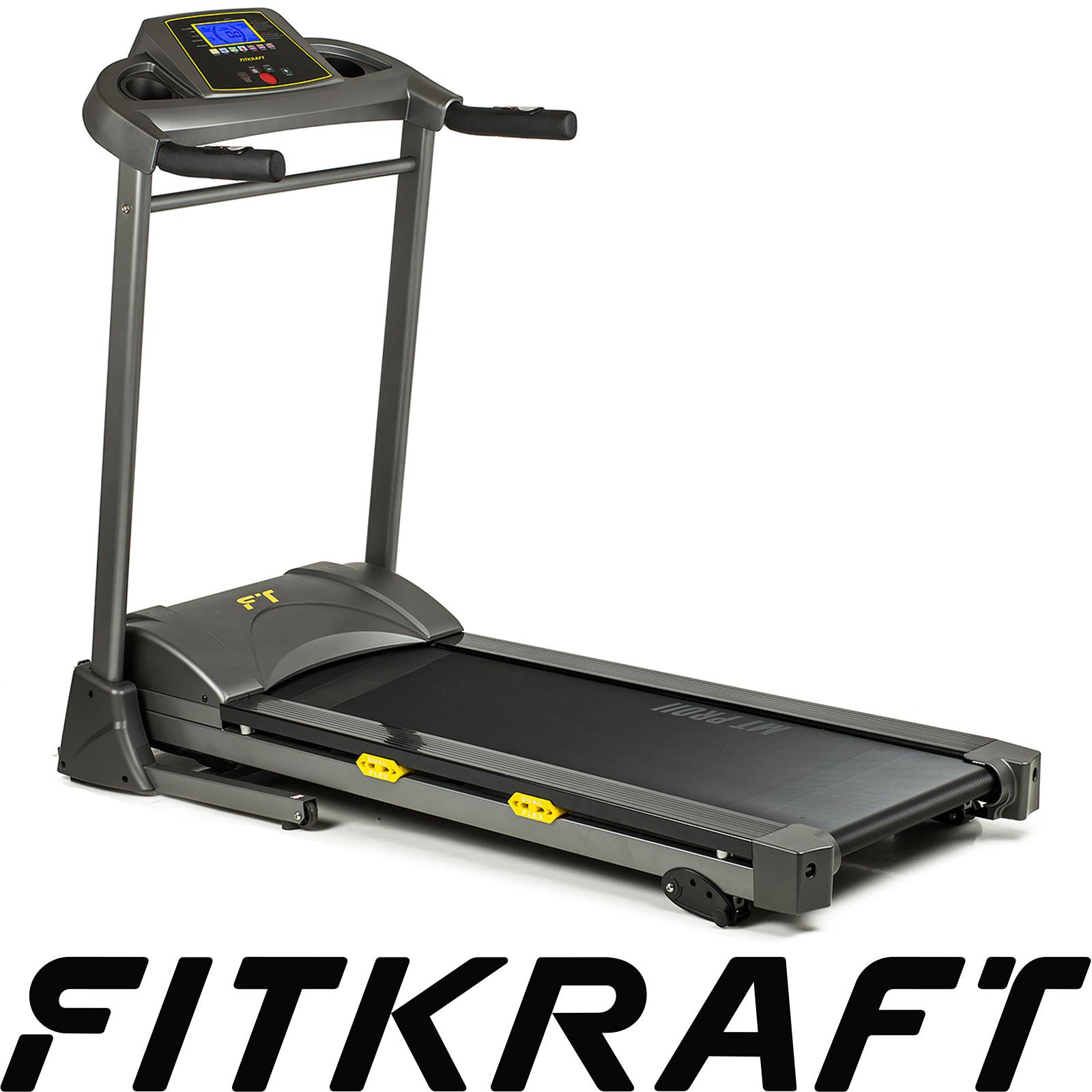 Bieżnia elektryczna MT-PRO FITKRAFT 16km/h 120kg