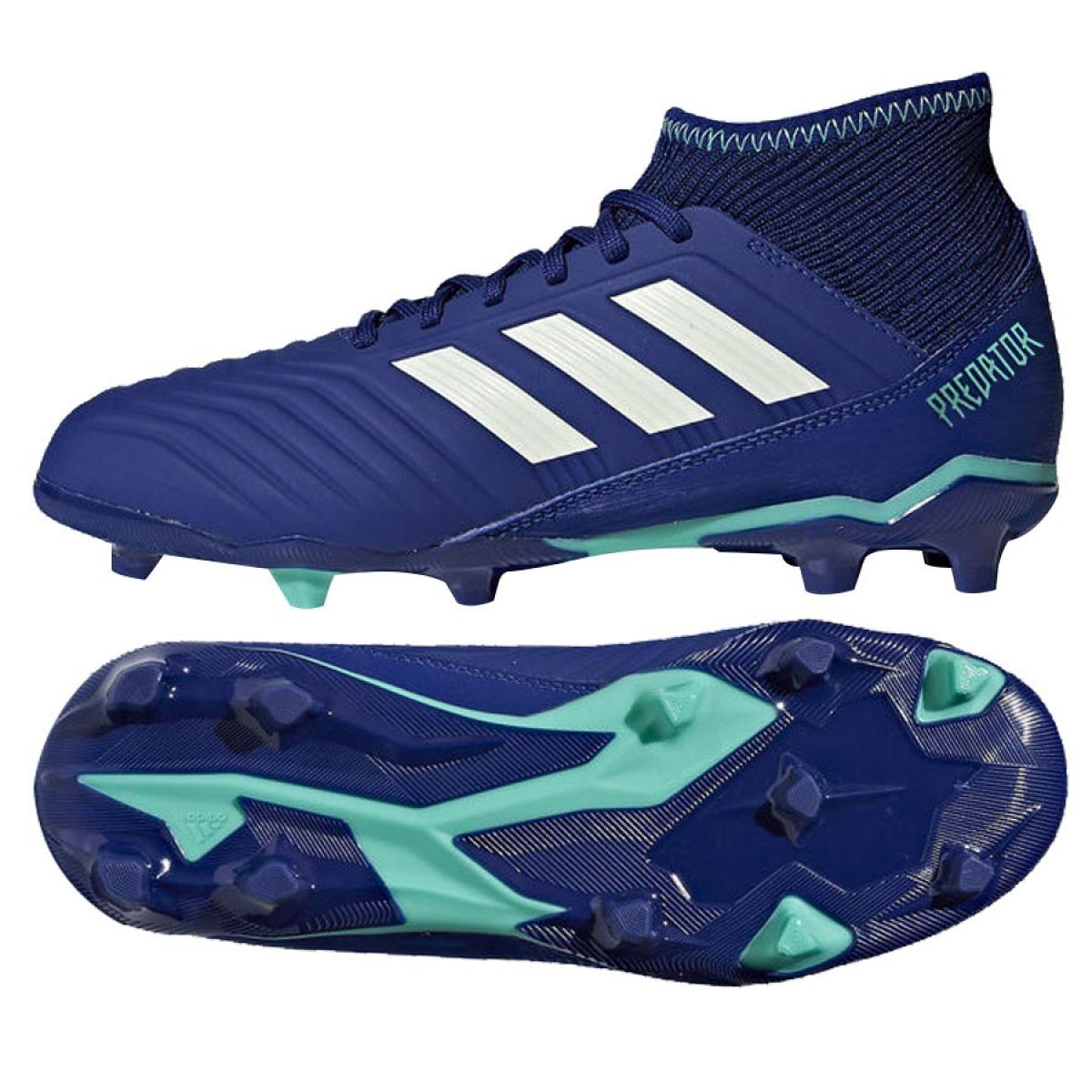 c75b1aee6950 Buty piłkarskie adidas Predator 18.3 FG Junior 38 - 7287861840 ...