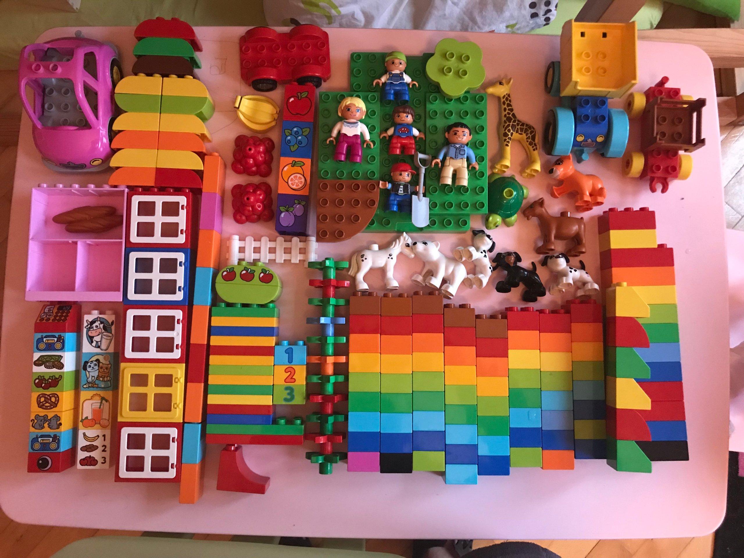 Klocki Lego Duplo Zestaw 177 Części 7354883357 Oficjalne