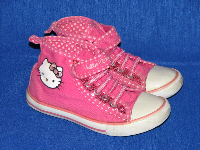 H&M Hello Kitty fajne trampki brokat cekiny 28