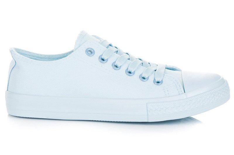 Niebieskie Tekstylne Buty Tenisówki Seastar r.38