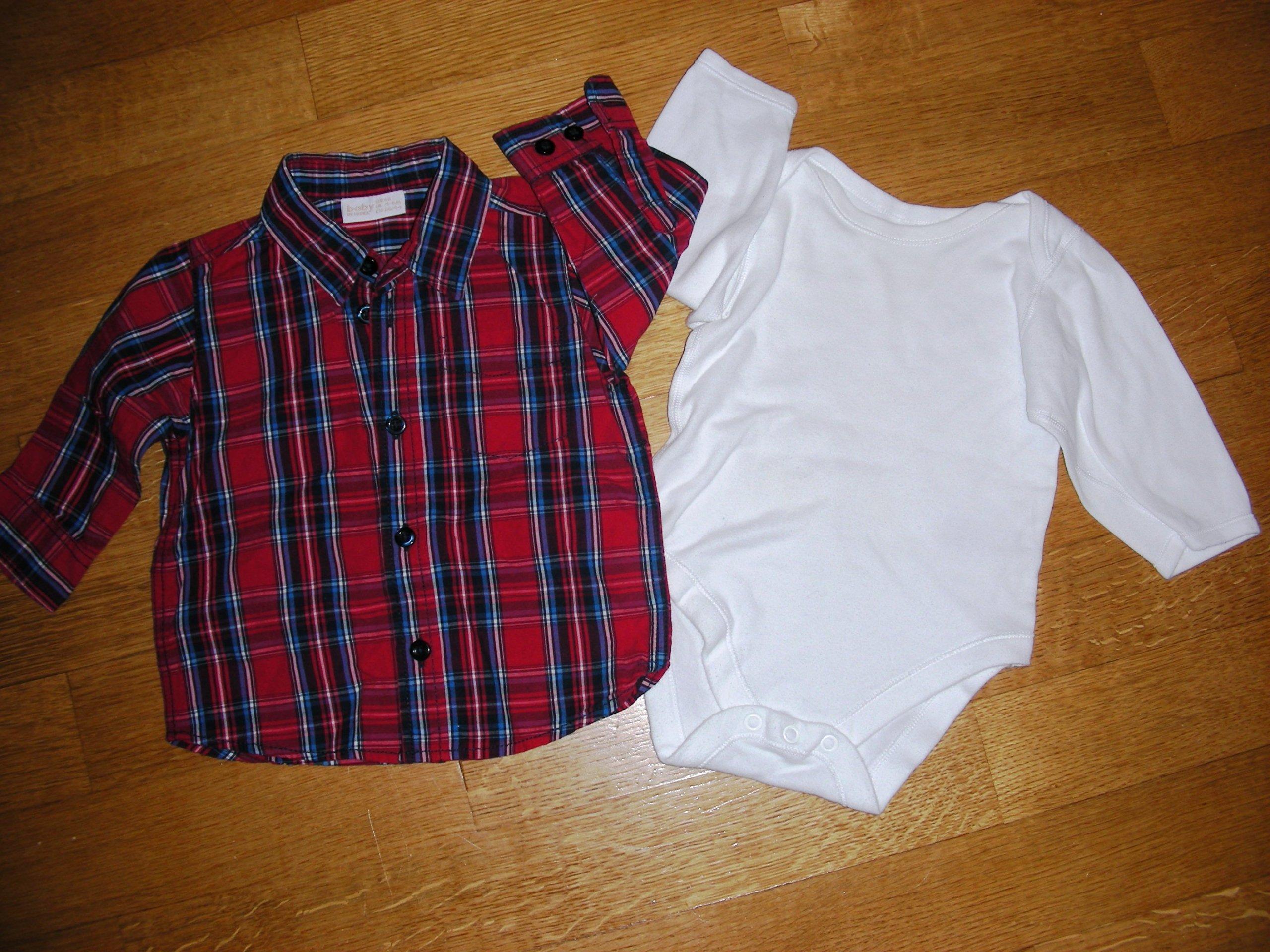 ba6ca579a1747e Elegancka Koszula na święta + Body rozm 68 - 7081902325 - oficjalne ...