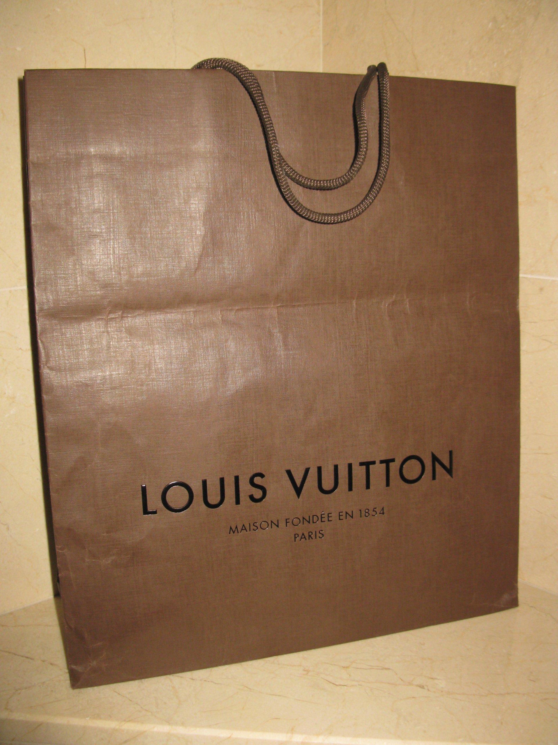 e6b6970d99e09 LOUIS VUITTON torba papierowa L NOWA - 7291529873 - oficjalne ...