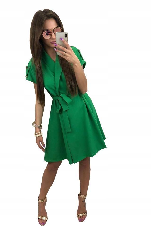 5d6f6fe8c3 Sukienka Rose Zielona Cocomore 36 - 7391757658 - oficjalne archiwum ...