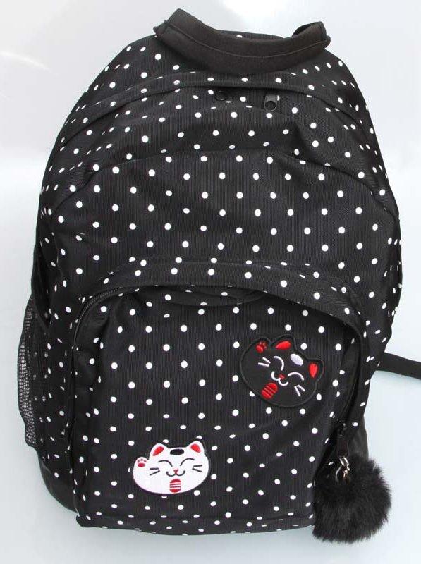 nowa wysoka jakość różne style najnowsza kolekcja HOUSE czarny plecak w kropki jak Nowy