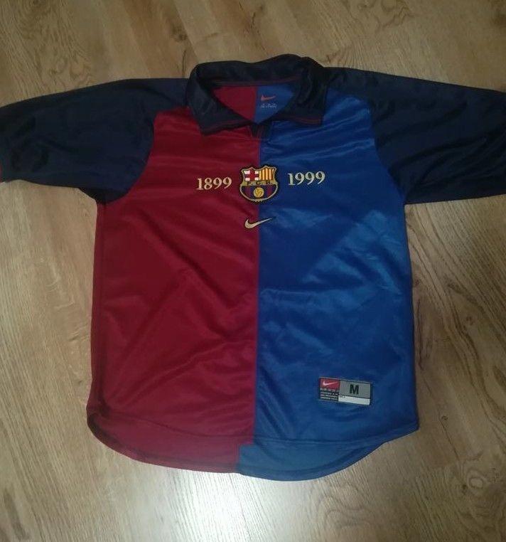 6615d532f Koszulka Retro FC Barcelona Home 1999/2000 Nike M - 7658026251 ...