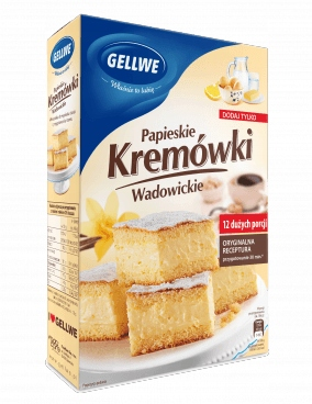 Papieskie Kremówki Wadowickie GELLWE 450g