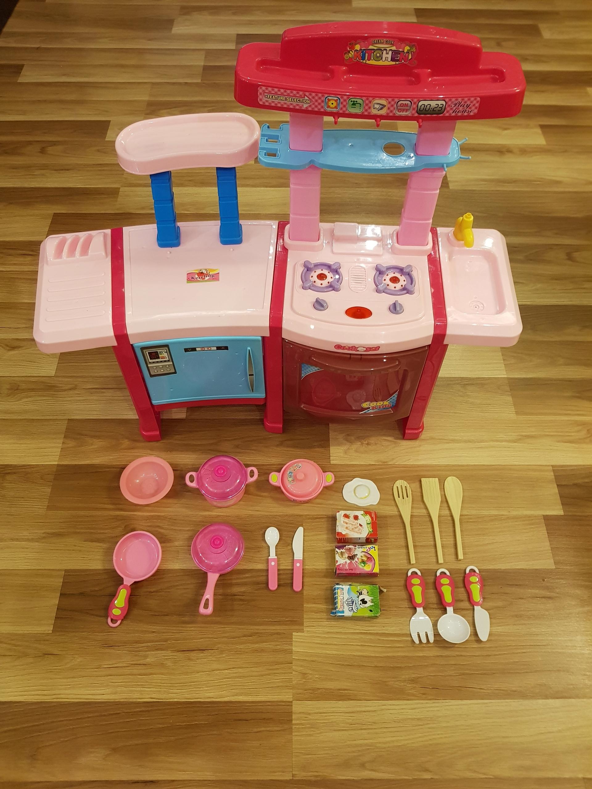 Kinderplay Kuchnia Dla Dzieci światło Dźwięk 7749570186