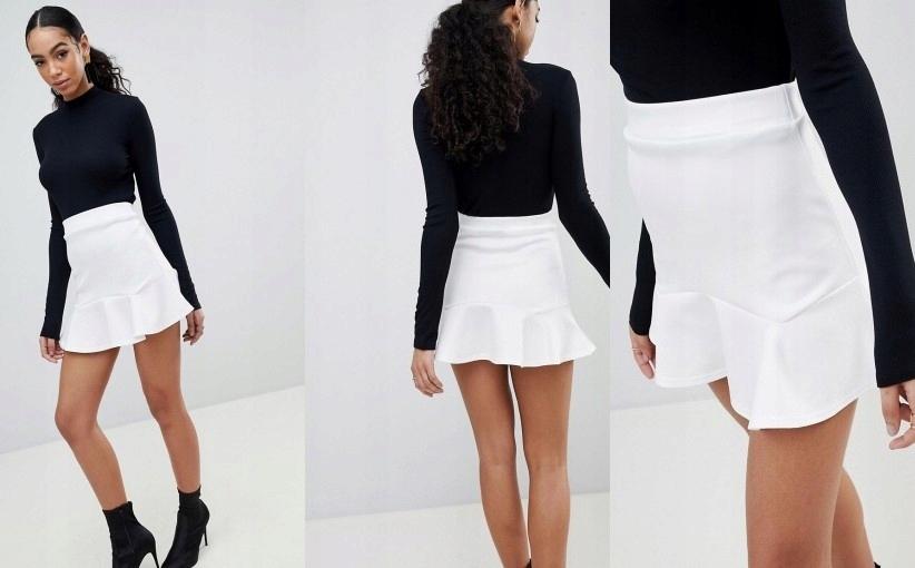 Tiulowa spódnica z potrójnymi paskami ADIDAS Originals