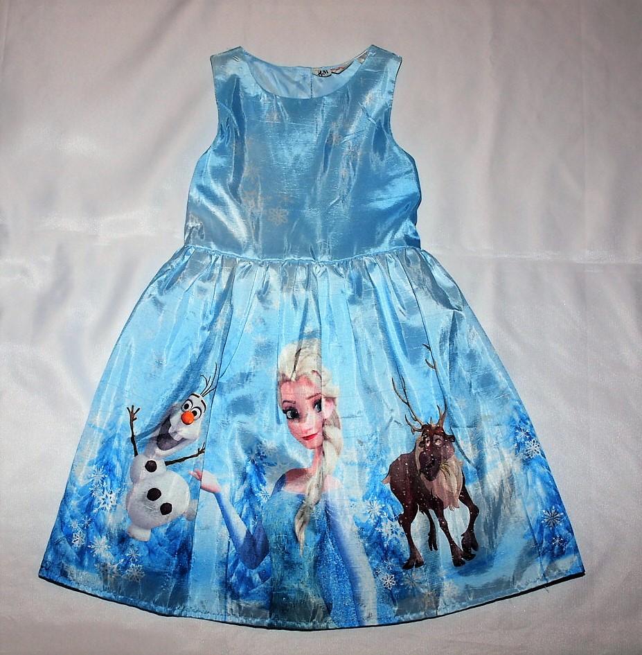07f4853c90 H M Sukienka Elsa Kraina Lodu roz 116 - 7284468143 - oficjalne ...