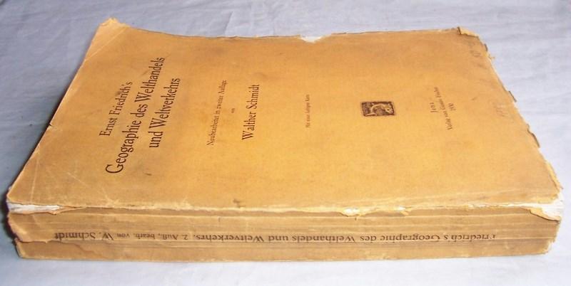 GEOGRAPHIE DES WELTHANDELS UND WELTWEREHRS. 1930.