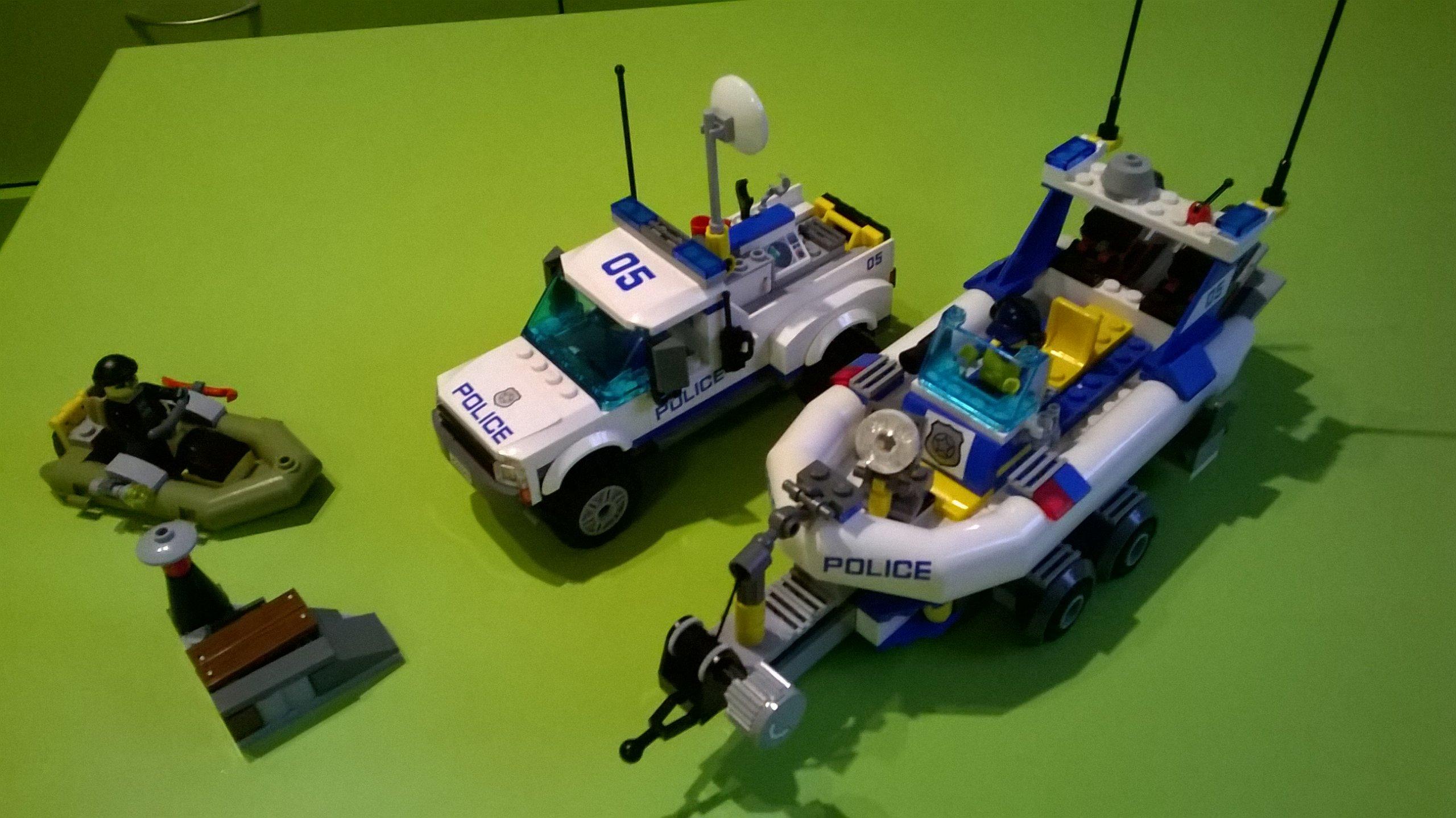 Lego City 60045 Policja Wodna Samochód łódź 7214070487 Oficjalne