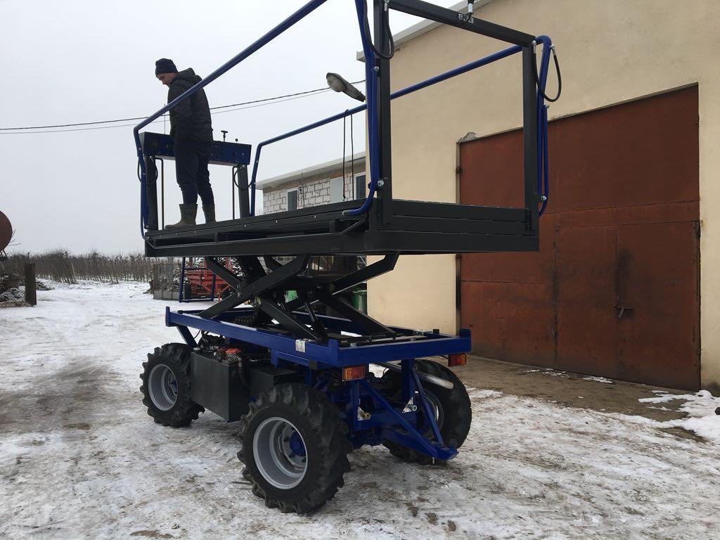 Wspaniały Platforma sadownicza samojezdna sprzedam - 7183296419 - oficjalne CY77