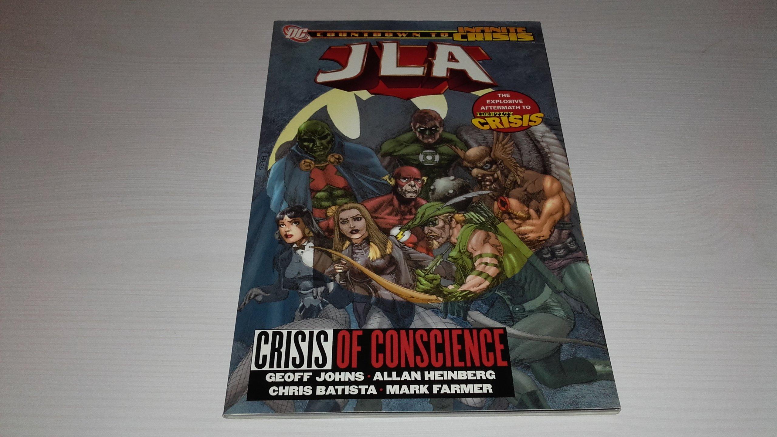 JLA Crisis of Conscience TP. Geoff Johns