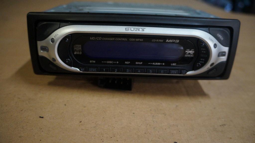 Genialny RADIO SAMOCHODOWE SONY XPLOD 4X50 CD 1 DIN - 7519341995 PW72