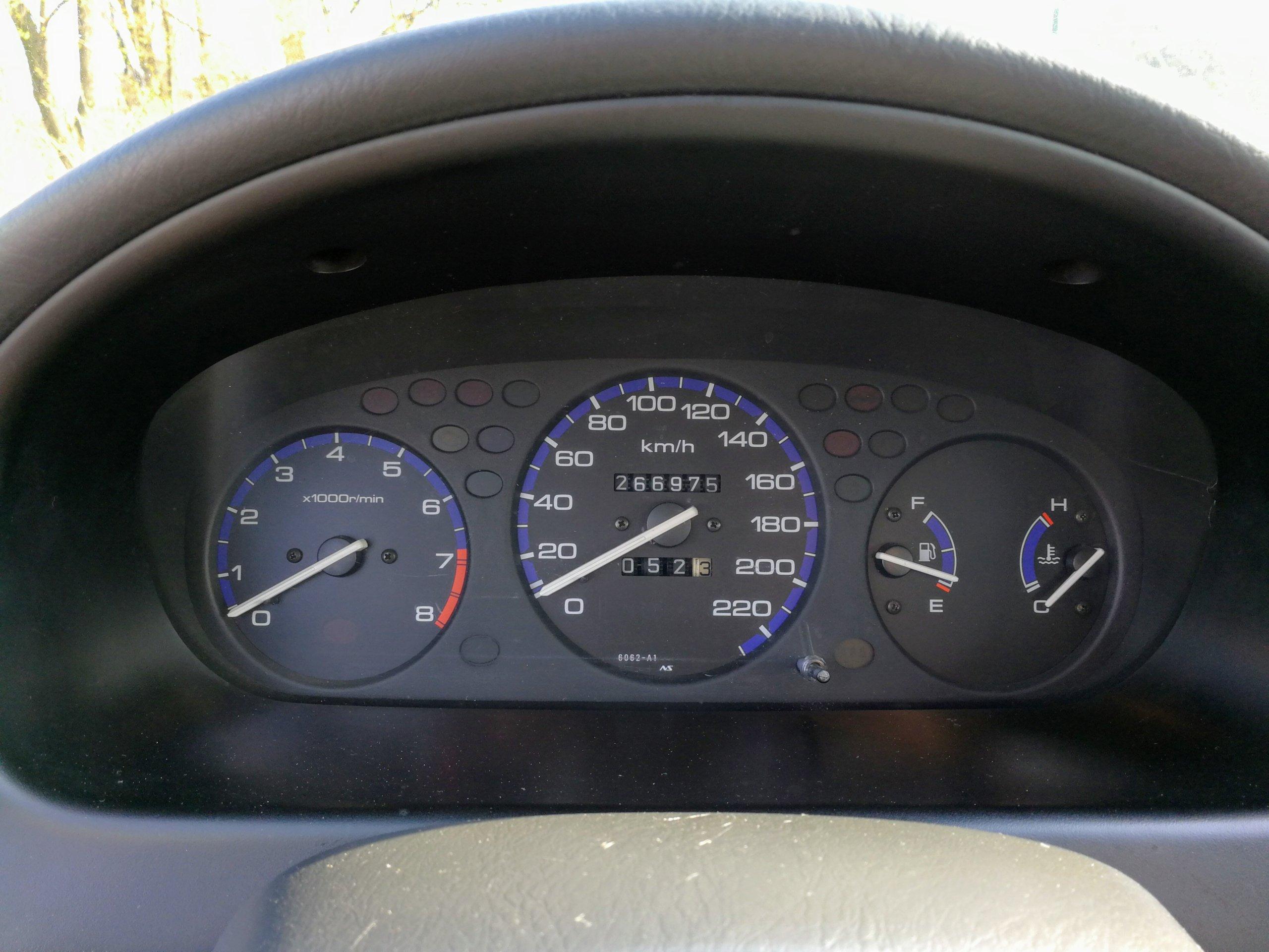 Honda Civic Vi 14 90 Km 1996 Wa 7288062706 Oficjalne Fuel Gauge