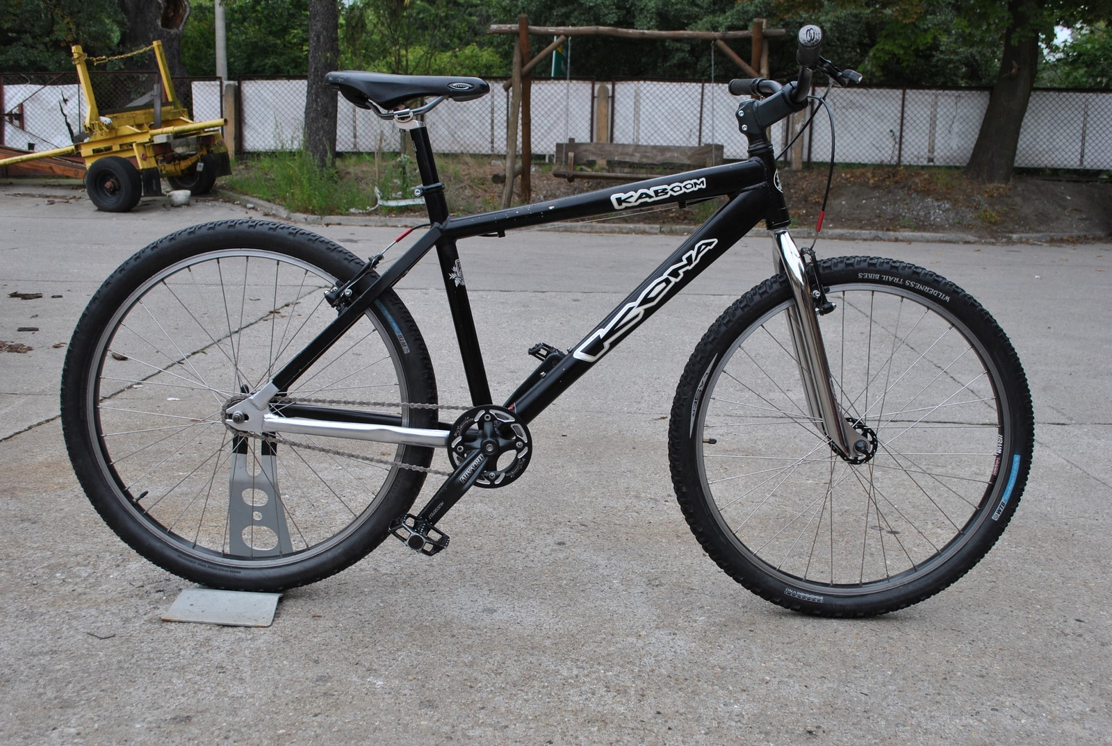 KONA KABOOM 18'' rower single speed STREET DIRT