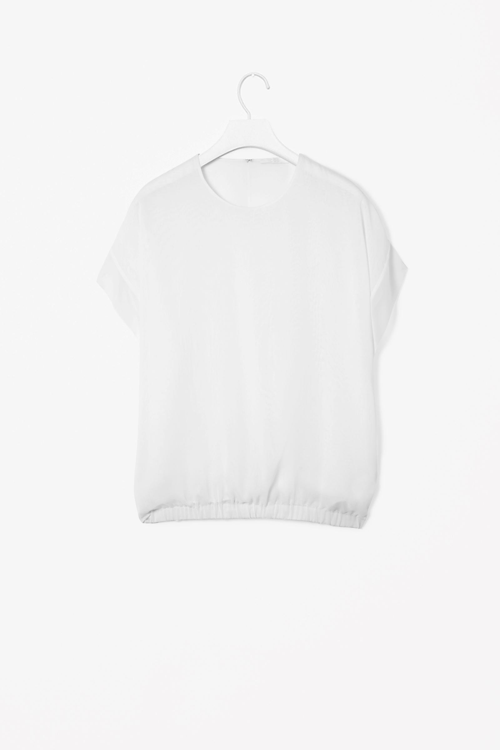 405d14dbbd952e cos biała bluzka gumka oversize r. 38/M - 7507375088 - oficjalne ...