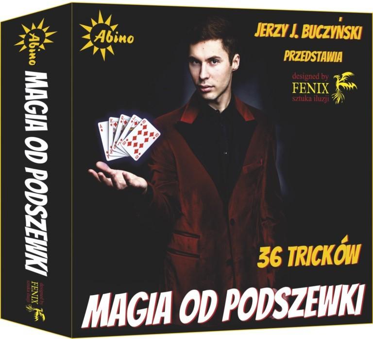 SZTUCZKI MAGICZNE MAGIA OD PODSZEWKI 36 TRIKÓW 8+