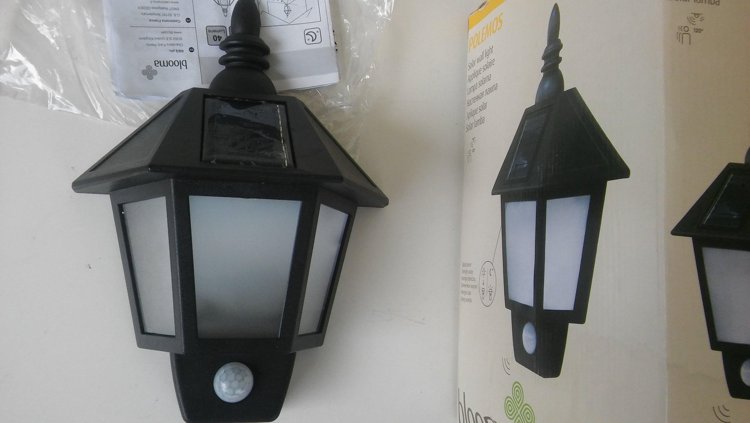 Lampa Solarna Blooma Uq86 Getclopa