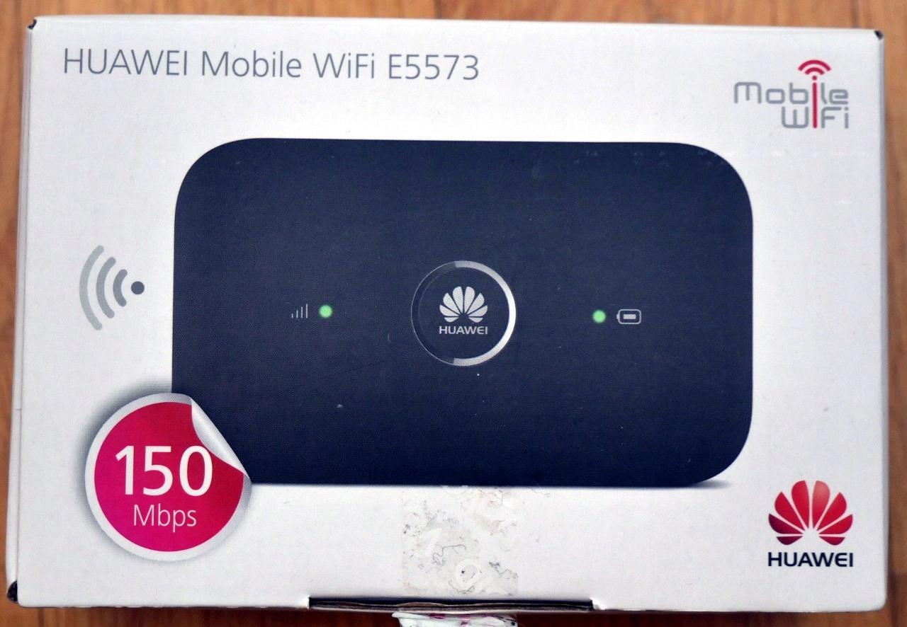 Router Modem LTE 4G WiFi5GHz Huawei E5573s-320 BCM