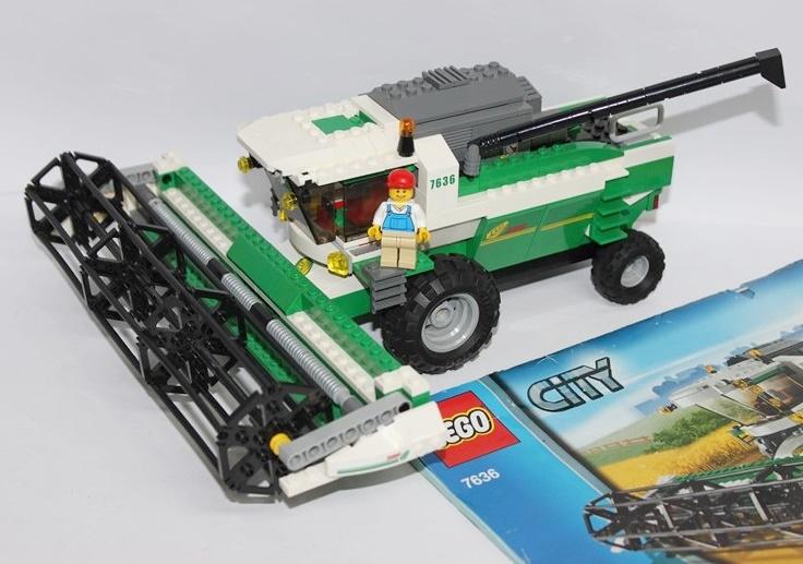 Lego City 7636 Kombajn Farma Unikat Zestaw 7088918356 Oficjalne
