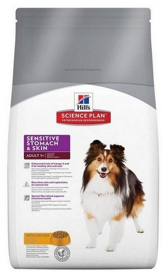Hill's Adult Sensitive Stomach&Skin Canine 12k