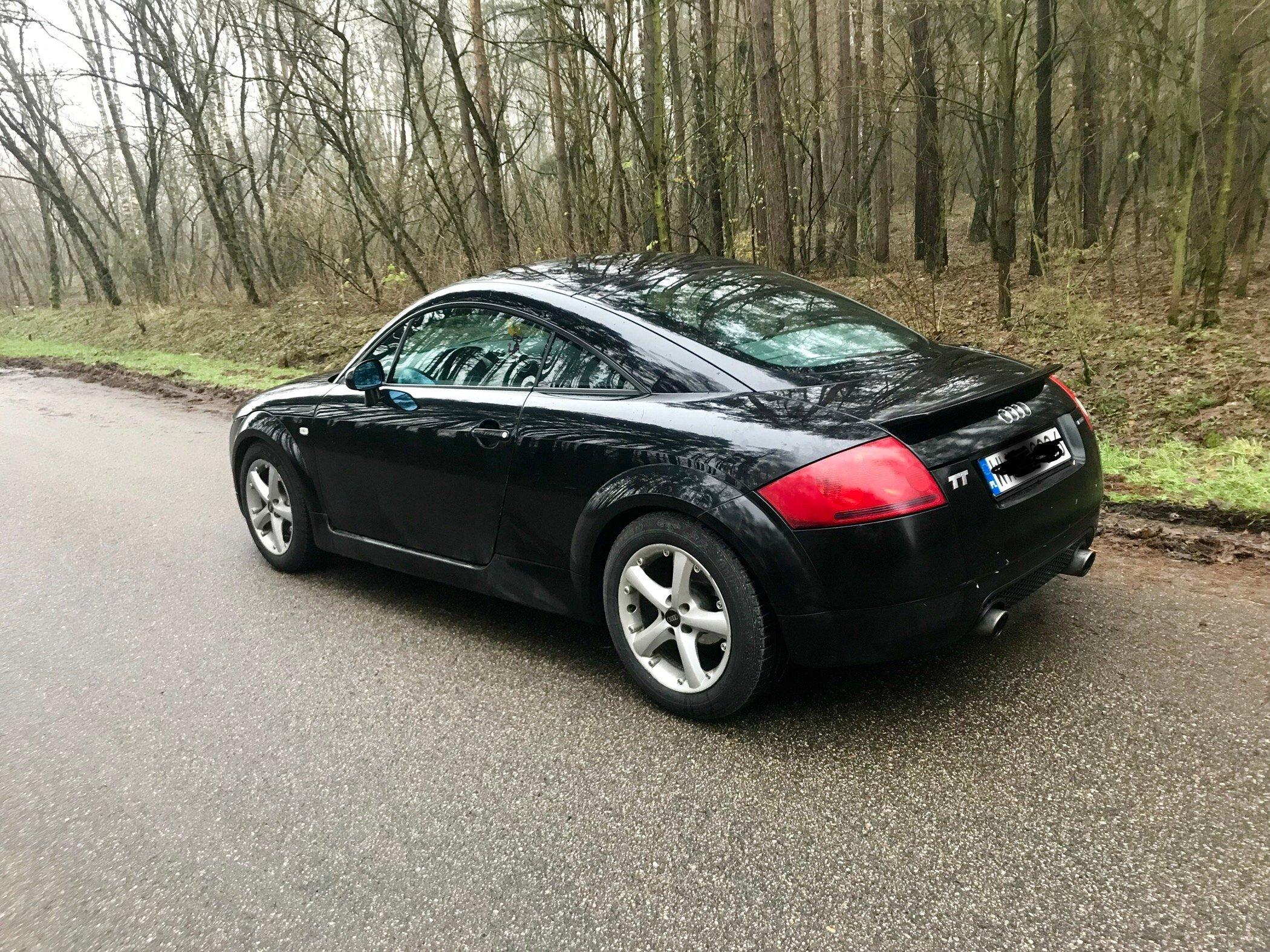 Audi Tt 8n Czarna 18 T Quattro 180km 1999 7106526249 Oficjalne