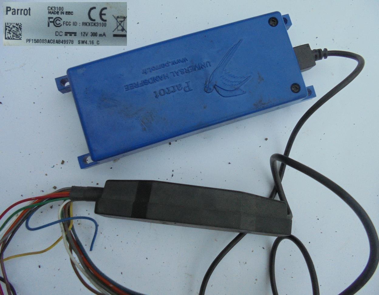 ZESTAW PARROT CK3100 KPL GLOSNOMOWIACY - 7201105241 - oficjalne ...