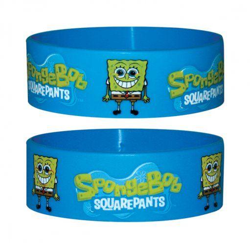 Spongebob - silikonowa opaska na rękę