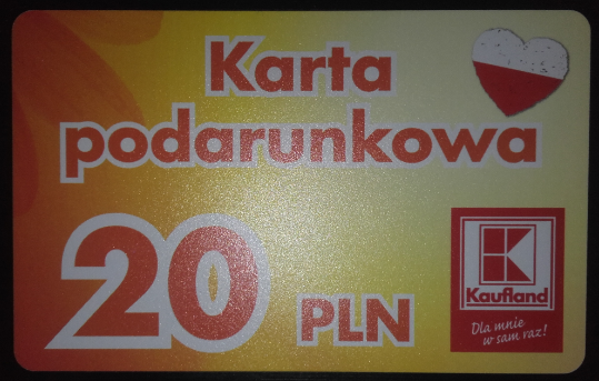 Karta Kaufland Unikalny Numer 354465000 7221227278 Oficjalne